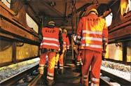 Naprawa infrastruktury kolejowej